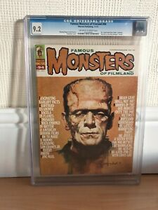 Famous monsters #94 high grade CGC graded 9.2 Near Mint-