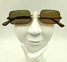 Vintage Hudson 12K Gold Filled Metal Rectangle Sunglasses Frames Only