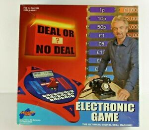 DEAL OR NO DEAL  Board Game With Electronic Deal Phone    UK FREEPOST        8