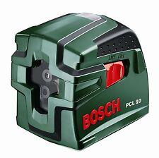 Nivel Laser de Lineas Cruzadas Bosch PCL 10 Metodo de Medicion Precisa NOVEDAD