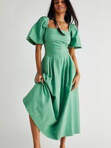 Free People Aint She A Beaut Midi Dress Size XS,S,M NEW
