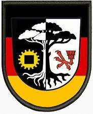Wappen von Ludwigsfelde, Aufnäher ,Pin, Aufbügler