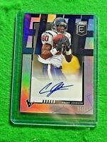 ANDRE JOHNSON PRIZM ELITE AUTO CARD SP #/49 TEXANS 2020 PANINI DONRUSS ELITE SSP