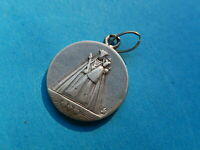 MEDAILLE  ARGENT  SOLID SILVER NOTRE DAME SACRE COEUR JESUS MARIE JOSEPH   THFR