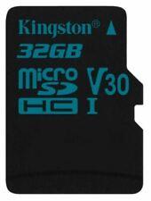 Kingston Canvas Go Micro SDHC Class 10 UHS-I U3 90MBs 32GB