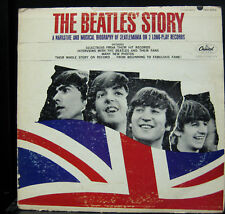 The Beatles Story 2 LP VG+ TBO-2222 Mono USA Press 1965 Vinyl Record Original