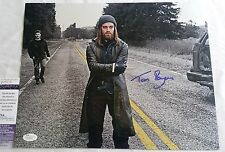 Tom Payne SIGNED 11x14 Autograph JSA COA Jesus The Walking Dead Paul Monroe 2B