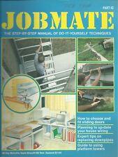 JOBMATE 42 DIY - SLIDING DOORS, WIRING, DOWNPIPES etc