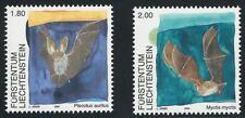 Liechtenstein aus 2005 ** postfrisch MiNr.1389-1390 - Fledermäuse!