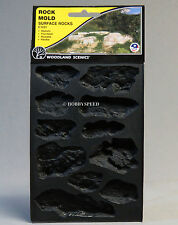 WOODLAND SCENICS ROCK MOLD SURFACE ROCKS O HO N O GAUGE train scene WDS 1231 NEW