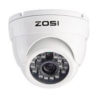 ZOSI CCTV 1000TVL 960H Security Video White Camera Outdoor Home Waterproof HDMI