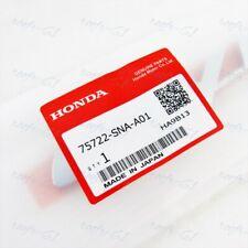 For Civic Sedan Coupe 2006 2011 Genuine Honda Rear Chrome Emblem Brand New X1
