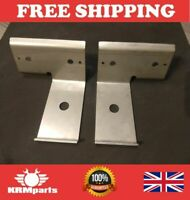 Land Rover Series 2 2a 3 Rear Stainless Brake Pipe Mounts NRC7314//5 /& Fittings