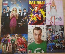 6 POSTER  __  The Big Bang Theory  __   Mega Collection / Sammlung