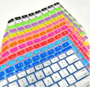 Lots 3 Silicone Keyboard Cover protector Skin for Apple Macbook Pro MAC Air 13''