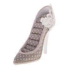 Novia zapato estilo soporte joyas exposición stand soporte joyas de visualización