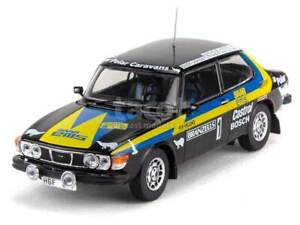 Saab 99 Swedish Rally 1977 - IXO 1/43