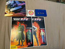 Saturday Morning RPG Figures, Poster, & Cassette *NEW* (Collector Items)