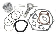 New Piston Kit With Connecting Rod and Full Gasket Set Fits Honda GX340 11HP