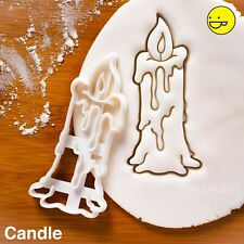 Witch Candle cookie cutter | neopagan Halloween witchcraft pagan spells wiccan