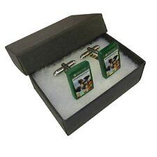 Handmade Fimo XBOX Gaming Cufflinks - Overwatch Origins Edition Game Boxed Gift