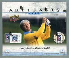2021 Upper Deck ARTIFACT PGA GOLF (FACTORY SEALED) HOBBY BOX *FROM SEALED CASE*