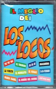 LOS LOCOS - IL MEGLIO DEI LOS LOCOS - TAPE MUSICASSETTA NUOVA SIGILLATA MACARENA