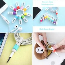 Earphone Cable Wire Cord Organizer Holder Winder for MP3 Phone Tablet MP4 MP5