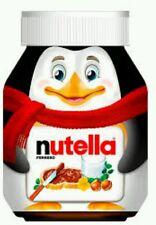 Cute Nutella Jar Penguin Special Edition  375G / 13  Oz