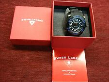 SWISS LEGEND - COMMANDER PRO - MEN'S WRISTWATCH - NEW WITH TAGS - COOL!