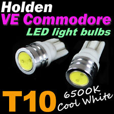T10 W5W White LED Bulbs to fit Holden VE Commodore Parking Lights SS SSV SV6 HSV
