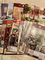 Set 15 Vintage HOME INTERIORS HOMCO BROCHURE SALES CATALOGS LOT #16