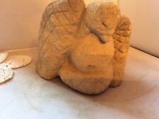 Folk Art, Stone Carving of a Bird-Edmondson-esque, Excellent Condition
