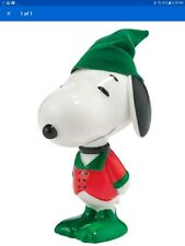 "Department 56 Peanuts Snoopy By Design ""Holly Jolly Hound"" Christmas Figurine"