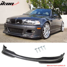 Fits 01-06 BMW E46 M3 AC-S Urethane Front Bumper Lip Spoiler Body Kit PU