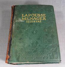 LAROUSSE DOMESTIQUE MENAGER 1926 ILLUSTRE Encyclopedia French ILLUSTRATED BOOK