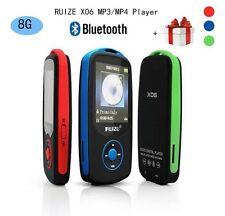 8GB RUIZU X60 BLUETOOTH SPORTS LOSSLESS MP3-4 PLAYER MUSIC VIDEO FM TUNER SPORT