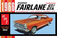 AMT 1091 1966 FORD FAIRLANE GT 1/25 SCALE PLASTIC MODEL KIT NISB