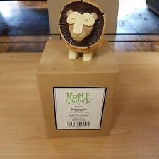 Enesco HOME GROWN Figurine MUSHROOM LION CAT 2011 - NEW WITH TAG & HTF!!