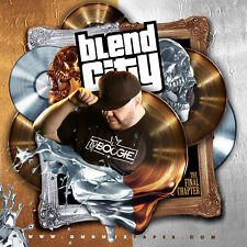 DJ TY BOOGIE - BLEND CITY: THE FINAL CHAPTER (MIX CD) HIP-HOP AND R&B BLENDS