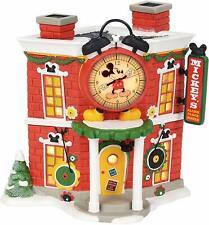 D56 Disney Village Mickey's Alarm Clock Shop 4057261 BNIB Lit Bldg W/FREE access