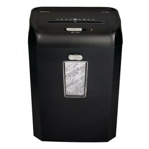 Rexel Promax RSX1035 10 Sheet Cross Cut Shredder Home Office 2100884A USED