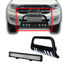 Ford Ranger 12-14 Low Loop Nudge Bar Powder Coated Steel with 4D 126W LED Light