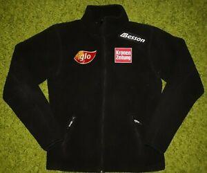 Anzi Besson Austria Ski Team Fleece Jacket Kronen Zeitung Iglo Black IEV