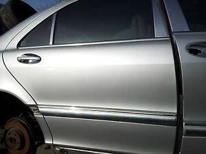 MERCEDES-BENZ W220 S430 S500 RIGH REAR DOOR SHELL  2000 01 02 03 2004 2005 2006