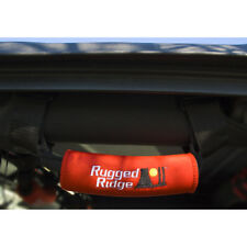 Jeep wrangler yj tj jk & cj 1955 - 2015 rugged ridge grab poignées rouge