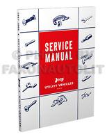 Jeep Pickup and Wagon Repair Shop Manual 1958 1959 1960 1961 1962 1963 1964 1965