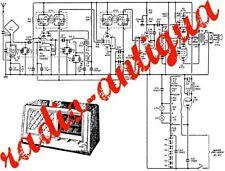 Siemens-stereo-verstärker  RV 80.radio SCHEMA ESQUEMA or SERVICE MANUAL