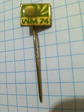 WM FIFA 1974  ANTIK Pin Badge Fussball  Football Worldcup 74