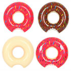 Newly Inflatable PVC Swim Ring Funny Donut Shape Swimming Pool Water Floats Raft